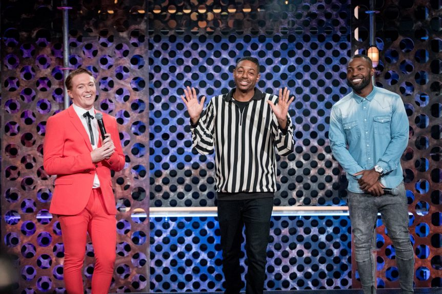 Darren Harriott & Stephen Bailey on Comedy Central Roast Battle