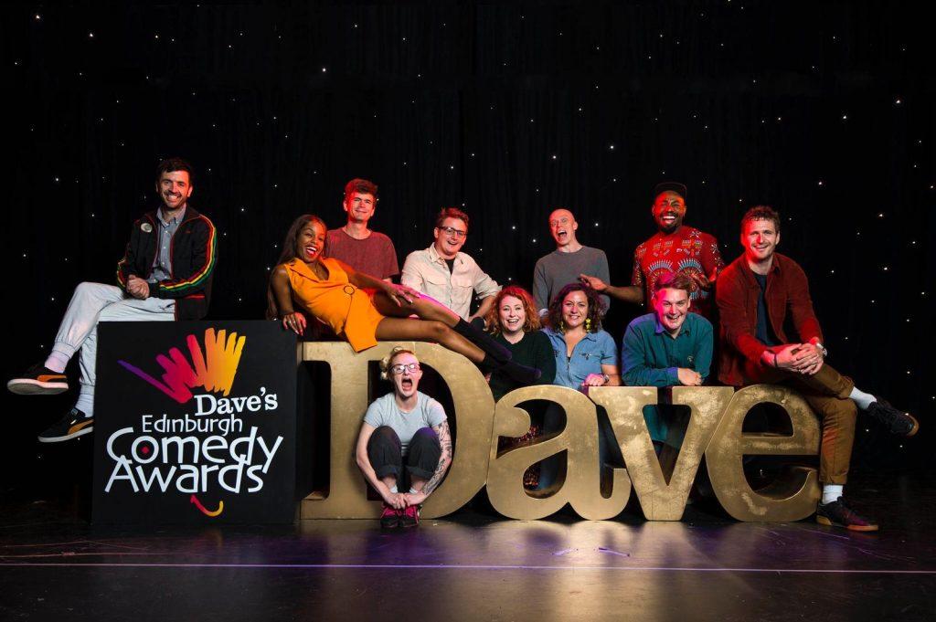 Darren Nominated for Best Show in Dave's Edinburgh Comedy Awards